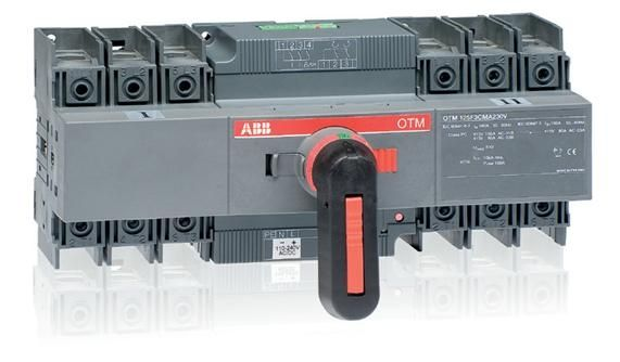 ABB CHANGE OVER & TRANSFER SWITCHES